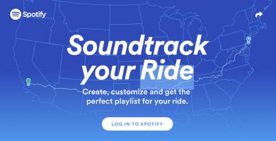 Spotify te hará la lista de reproducción perfecta para viajar por carretera