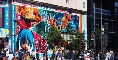 5 Lugares en Japón para los fanáticos del anime